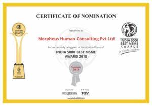 Morpheus Human Consulting Achievement